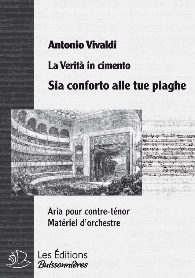 Vivaldi : Sia conforto alle tue piaghe (La Vertià in cimento), chant & orchestre