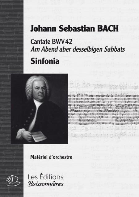 BACH : cantate BWV42 - sinfonia