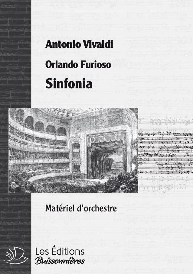 Vivaldi : Orlando furioso, RV 728, sinfonia
