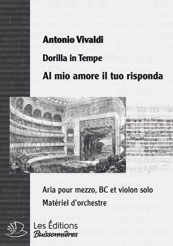Vivaldi : Al mio amore il tuo risponda, chant et orchestre