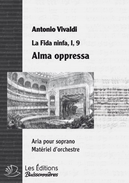 Vivaldi : Alma oppressa (Fida ninfa), chant et orchestre