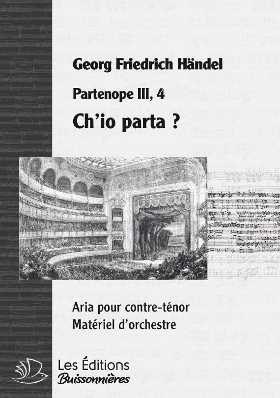 Vivaldi : Ch'io parta (Partenope), chant & orchestre