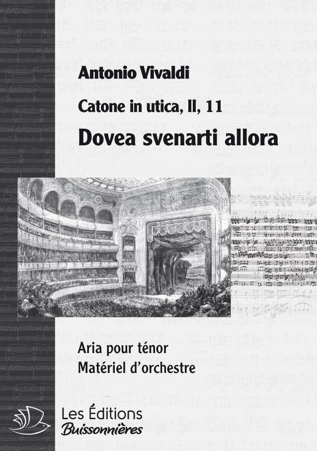 Vivaldi : Doppo la notte, altra funesta (Ariodonte), chant et orchestre