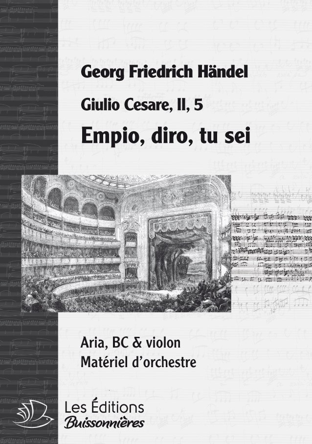 Händel : Empio, diro, tu sei (Giulio Cesare)