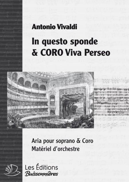 """Vivaldi : In questo sponde - Coro """"Viva Perseo"""", chant & orchestre"""
