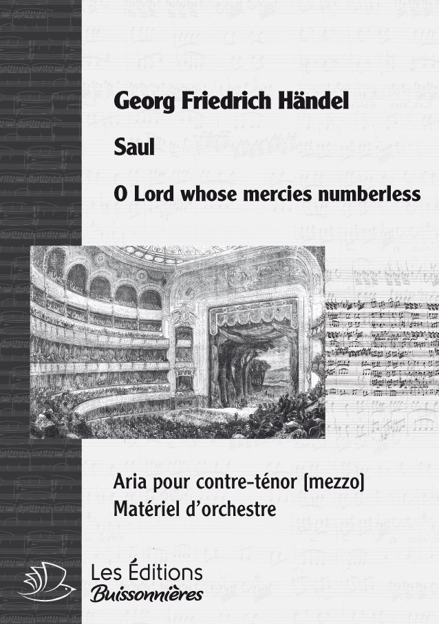 Händel : O Lord, whose mercies numberless (SAUL)