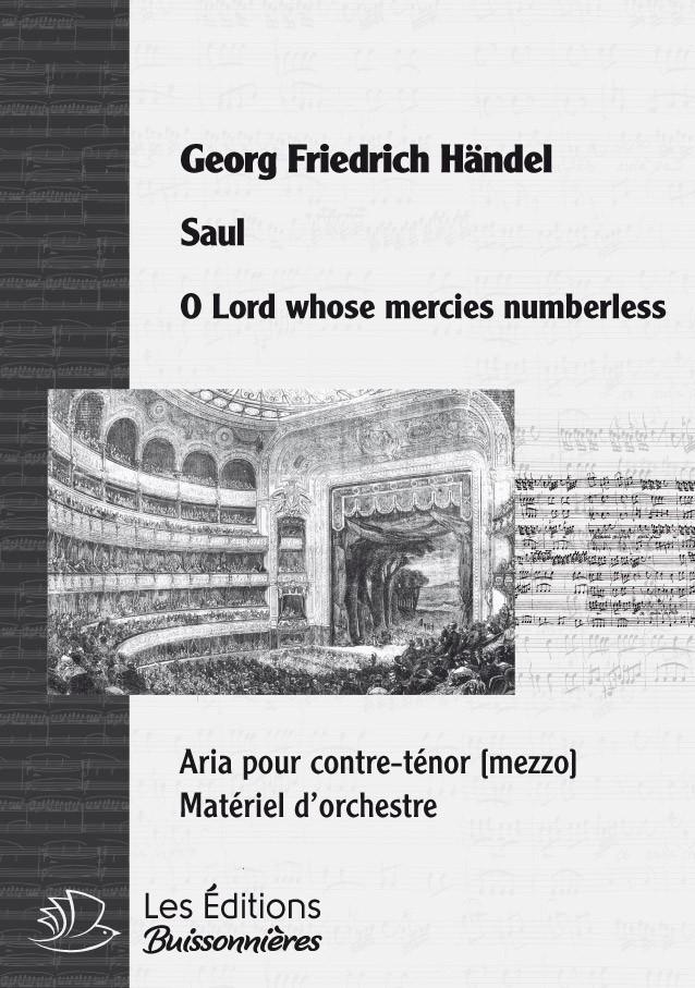 Händel : O Lord, whose mercies numberless (SAUL)