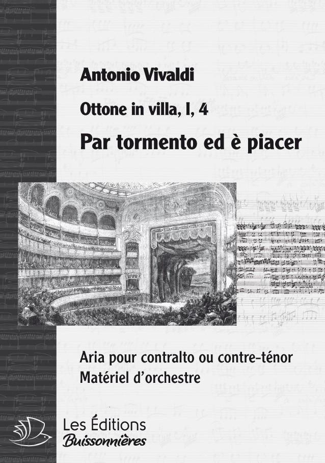 Vivaldi : Ombre vane, ingiusti orrori (Griselda), chant & orchestre