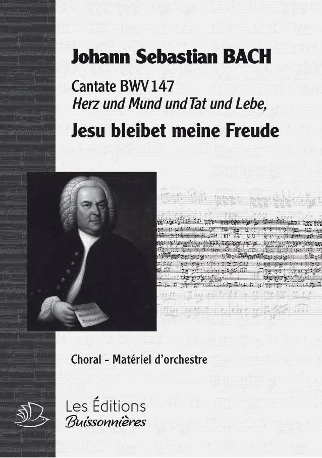 BACH : Jesu bleibet meine Freude (BWV147), choral & orchestre