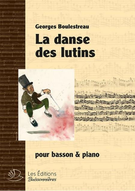 La danse des lutins, pour basson & piano (G. Boulestreau)