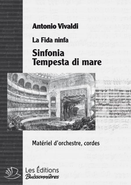 Vivaldi : tempesta di mare, Sinfonia