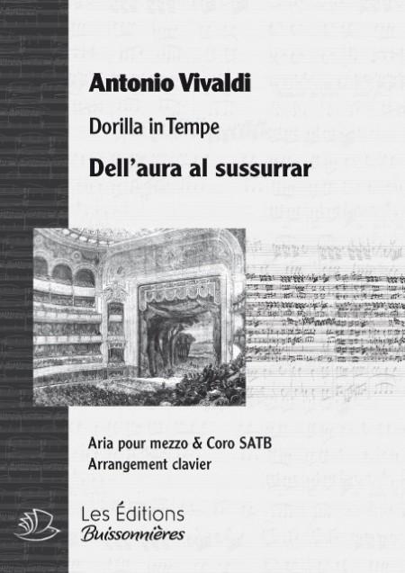 Vivaldi : Dell'aura al sussurrar (Dorilla in tempe) chant & clavier