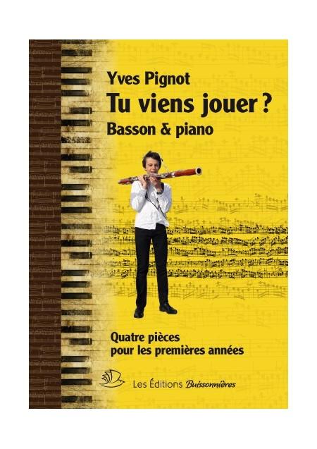 Tu viens jouer ? Basson et piano