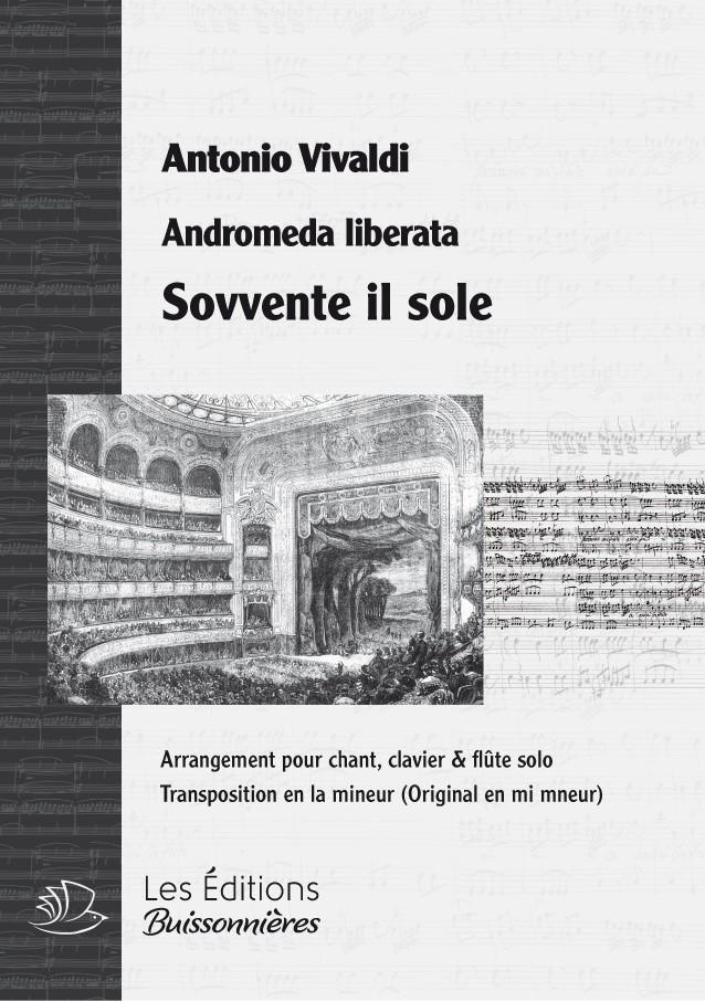 Vivaldi : Sovvente il sole, chant violon & clavier (transposition en la mineur)