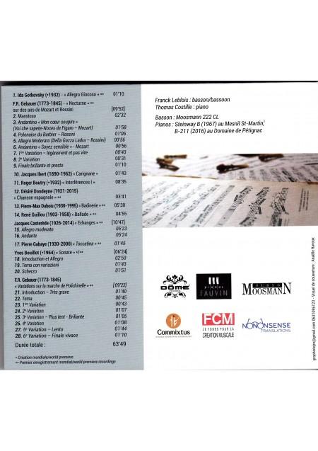 CD Au fil du temps, Commixtus