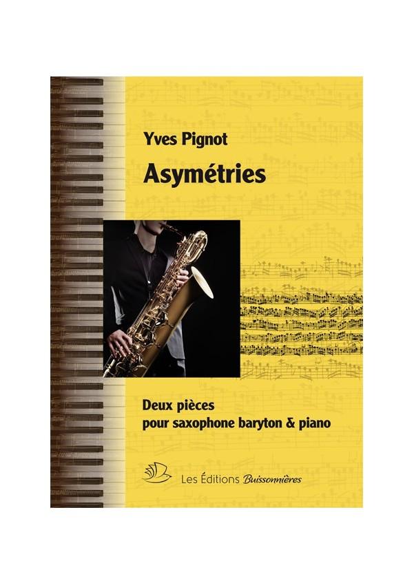 ASYMÉTRIES - Saxophone baryton et piano