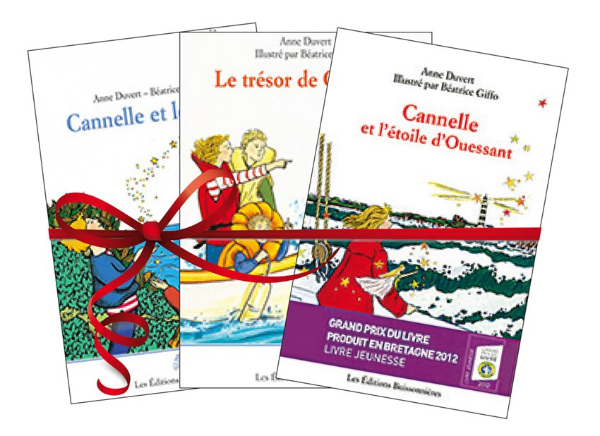 "Lots des 3 romans ""Cannelle"""