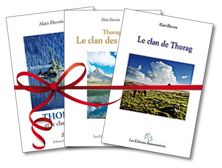 """Lots des 3 romans """"Thorag"""""""