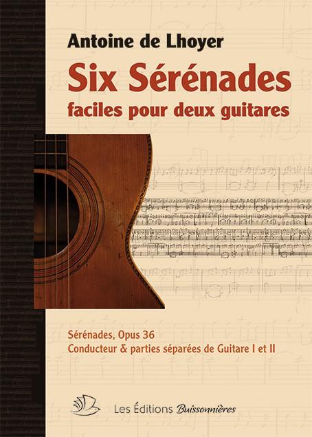 De Lhoyer : Six sérénades faciles pour 2 guitares
