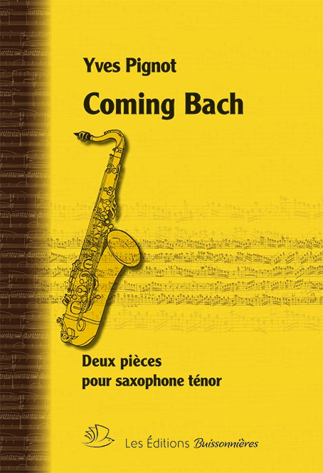 COMING BACH - Saxo ténor