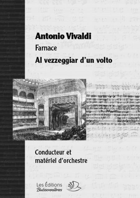 Vivaldi :  Al vezzeggiar d'un volto, chant et orchestre