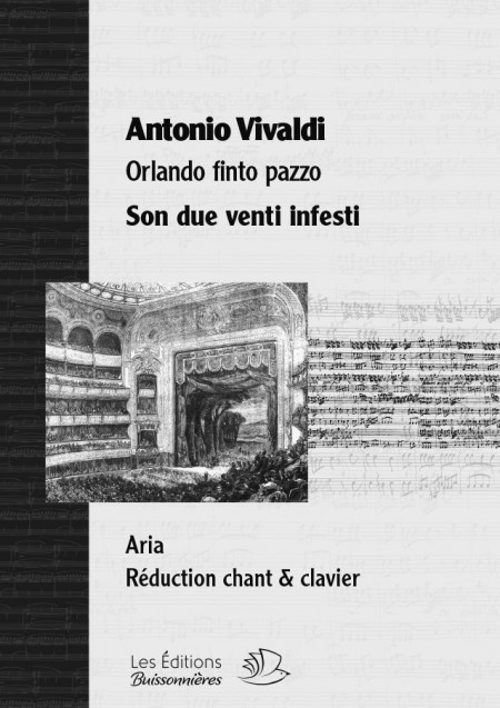 Vivaldi : Son due venti infesti, chant et clavier