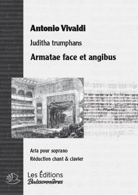Vivaldi : Armatae face et angibus (Juditha trionfans), chant et CLAVIER