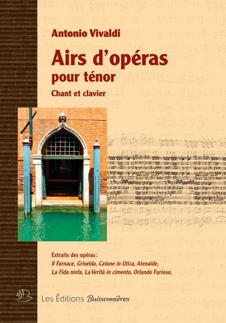 Vivaldi : Airs d'opéras pour ténor
