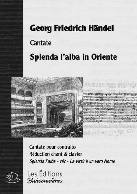 Händel : Splenda l'alba in...