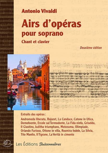 Airs d'opéras pour Soprano...