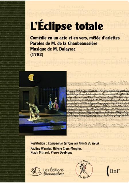 L'Éclipse totale -Dalayrac