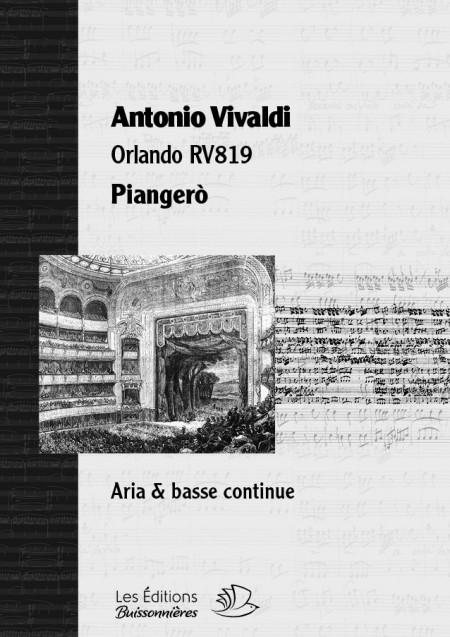 Vivaldi Piangerò  (Orlando...
