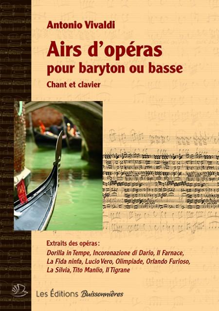 Vivaldi : airs d'opéra pour...