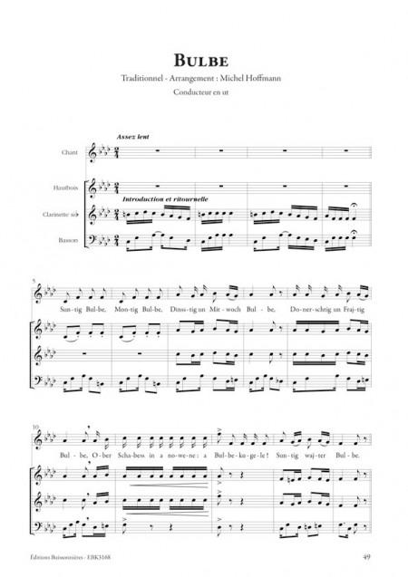 Oj wi fajn? Chants Yiddish & Musiques klezmer - pour chant et trio d?anches