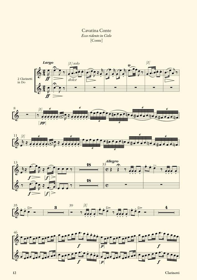 Le Barbier de Séville (G. Rossini) : matériel d'orchestre