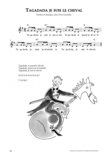 Chansons animalières de Jean-Yves Lacombe
